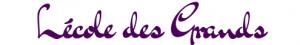 Logo - L'école des grands